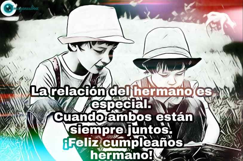 Feliz Cumpleaños Hermano Frases De Hermanos