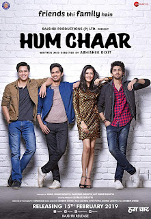 Hum chaar (2019) Hindi Movie Pre-DVDRip | 720p | 480p