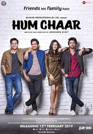 Watch Online Hum Chaar 2019 Full Movie Download HD Small Size 720P 700MB HEVC HDRip Via Resumable One Click Single Direct Links High Speed At WorldFree4u.Com