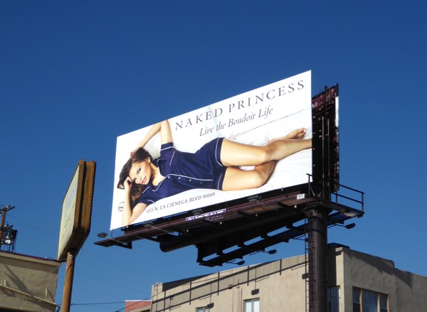 Naked Princess Spring 2017 billboard