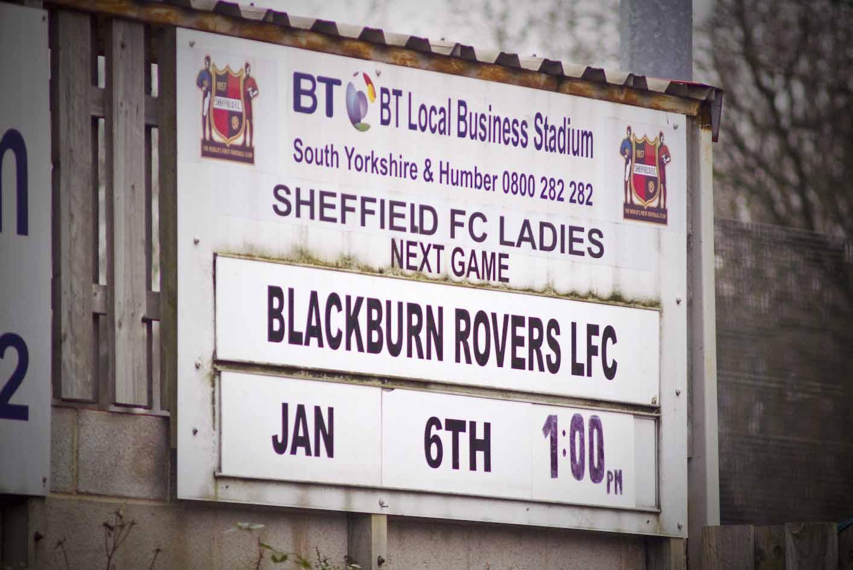 b1026fac89 06 January 2013 - Sheffield Ladies FC v Blackburn Rovers Ladies FC