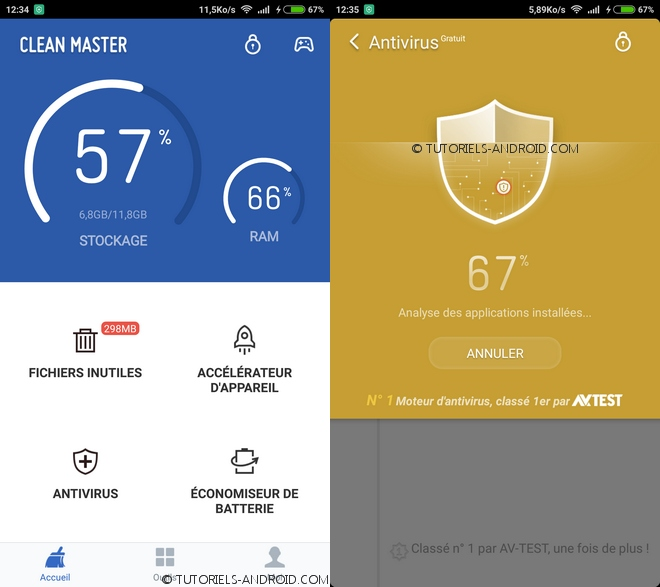 Clean Master - Speed Booster pour Android