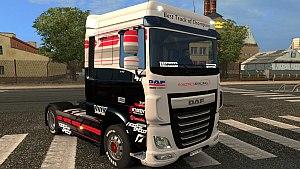 DAF Euro 6 Racing skin mod
