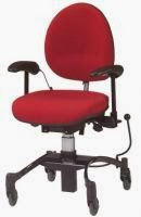 Rolling Desk Chair With Locking Wheels Next Bedroom Sale Ada How To Make An Office Safe Putting On The Brakes When Vela Tango This Comes In A High End Model All Bells And Whistles Lower Less Features
