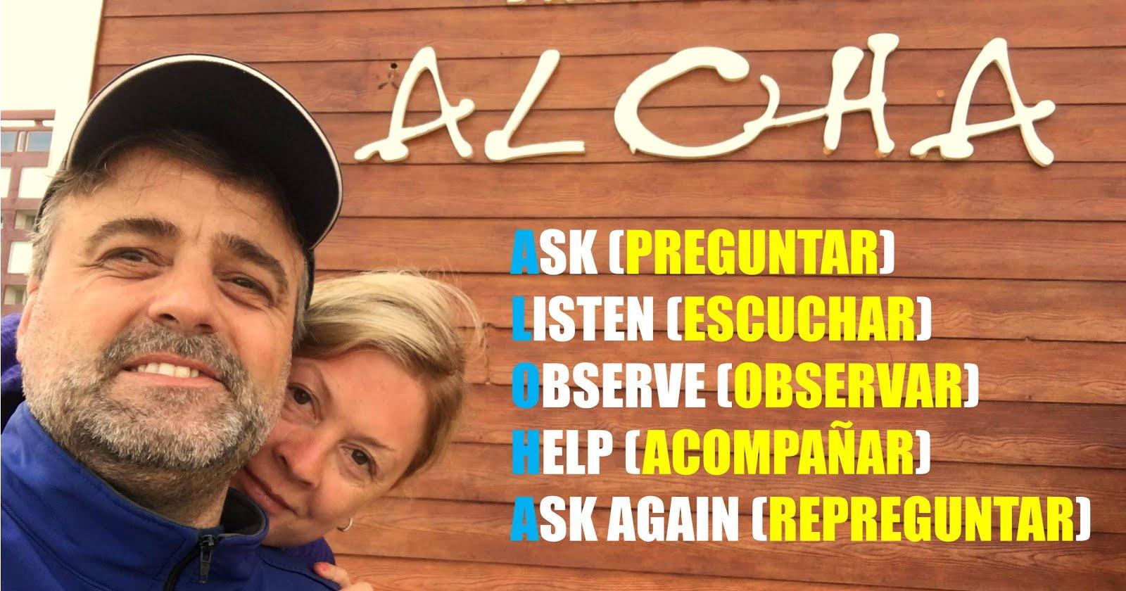#Tool ALOHA, estoy presente aquí contigo ¿Cómo nos relacionamos con el otro?