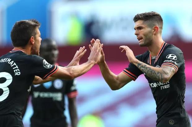 Aston Villa 1-2 Chelsea, Premier League