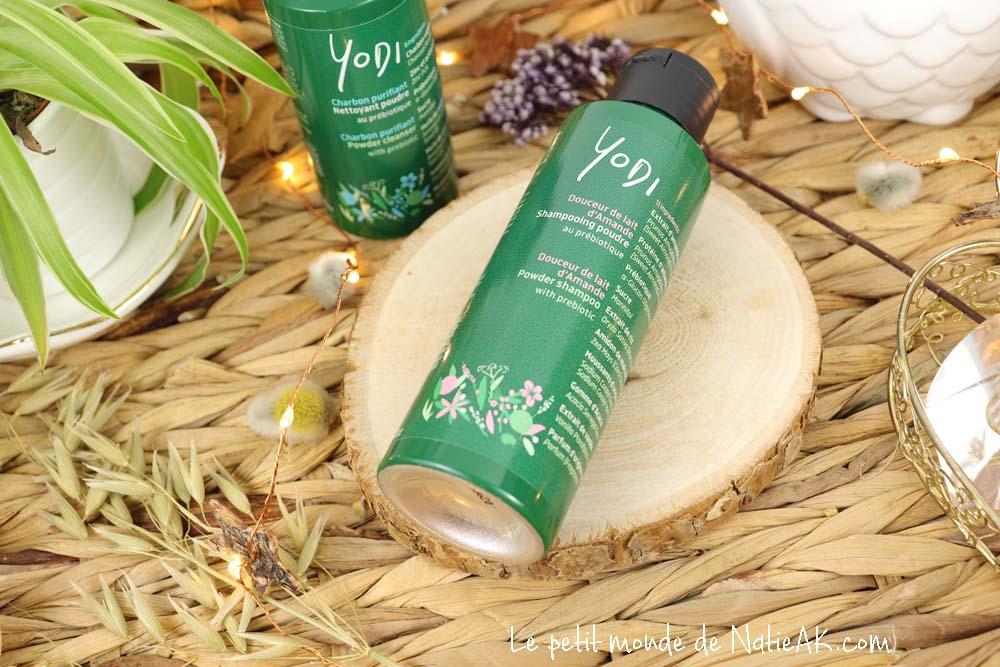 shampoing poudre au prébiotique Douceur de lait d'amande Yodi