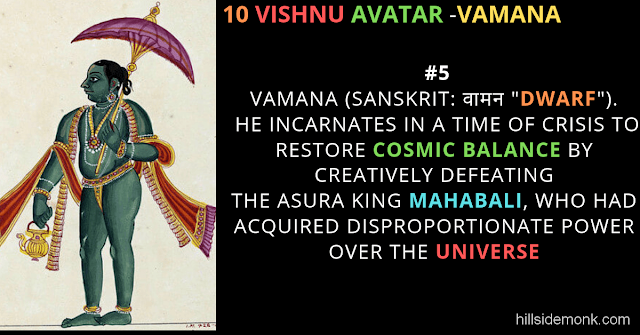 10 Vishnu Avatar In Hinduism-VAMANA