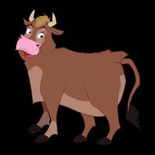 ox, bull,Akbar Birbal Story In Marathi