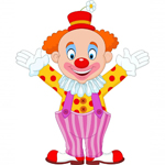 clown party disco in learn spanish