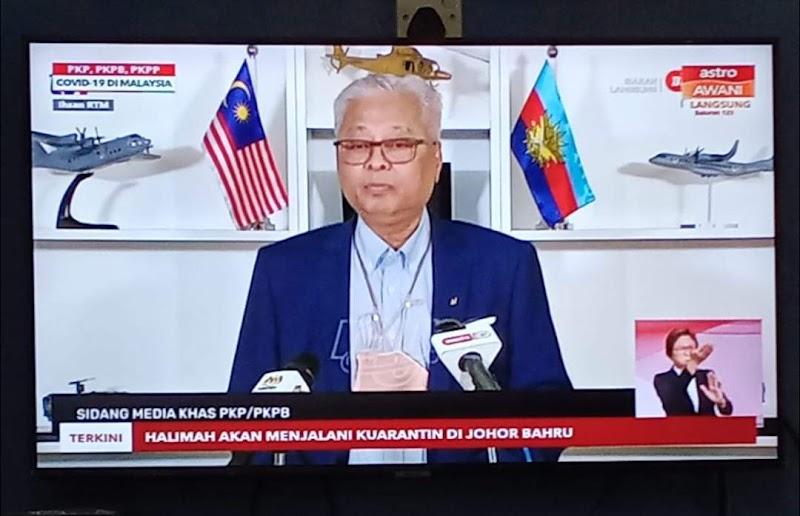 TERKINI: PKP Di Kedah, Perak, N.Sembilan, Pahang, Terengganu Dan Perlis Bermula 22 Januari 2021 Sehingga 4 Februari 2021