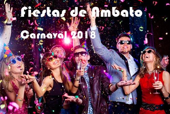 Programa completo fiestas de Ambato 2018