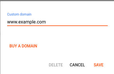 add custom domain to your blog