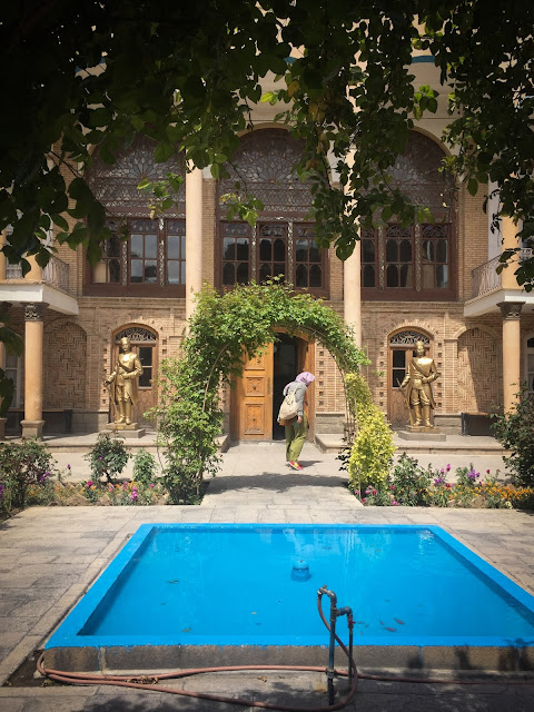 Casa Constitutiei, Tabriz, Iran