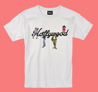 gorillaz clothing line, gorillaz g foot, g foot store, gorillaz tshirt, humanz tshirt, gorillaz merchandise 2017