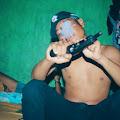 Hujat Polisi Sambil Pegang Senpi Rakitan di Sosmed, Remaja Asal Hu'u Dompu di Ciduk
