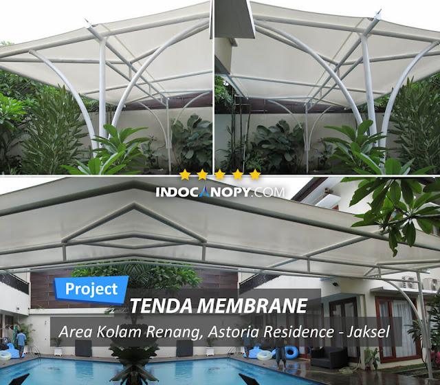 canopy membrane awiming area