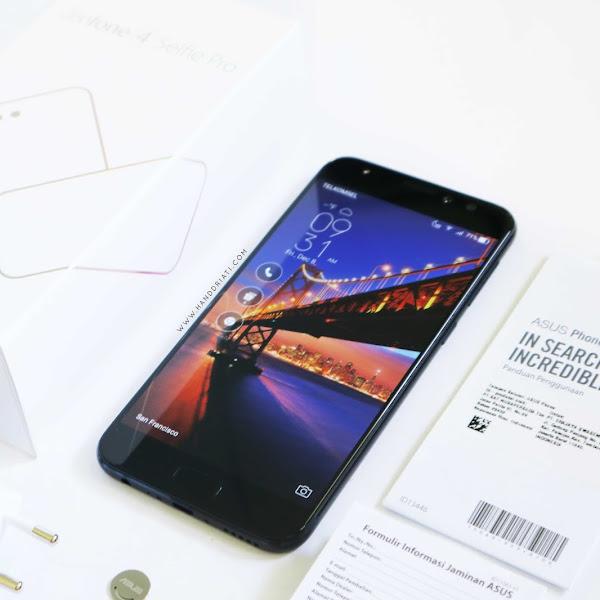 Review Kamera ASUS Zenfone 4 Selfie Pro, Smartphone Selfie 24MP !