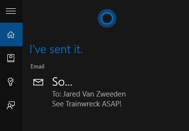 cara mengirim email selesai