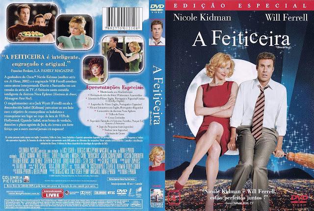 Capa DVD A Feiticeira