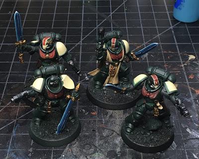 40K Blades of Vengeance Lieutenants WIP - power swords