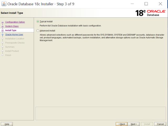 5. Install Type