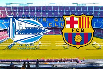 مباراة برشلونة و الافيس الجولة الثامنة من الدوري الإسباني 2020