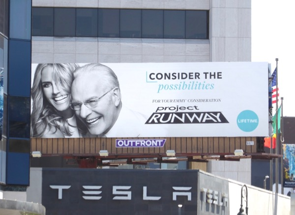 Project Runway season 15 Emmy FYC billboard