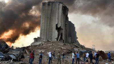 Fakta Lengkap Ledakan Besar di Beirut Lebanon, Dahsyat Menghancurkan Seperti Nuklir