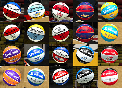 NBA 2K13 Spalding All-Star Basketball Mod