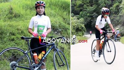 Niña promesa del ciclismo Huilense pide apoyo para ganarse una beca. ¡Ayudémosle!