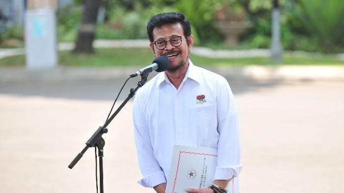 Syahrul Yasin Limpo Menteri Pertanian Jokowi Jilid II?