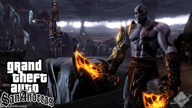 GTA San Andreas New God Of War Cleo Mod