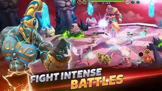أدخل عالم Might & Magic: Elemental Guardians - استراتيجية RPG ملحمية في عالم الخيال Might & Magic .