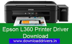 Download Epson L360 Printer Driver for Windows And MAC