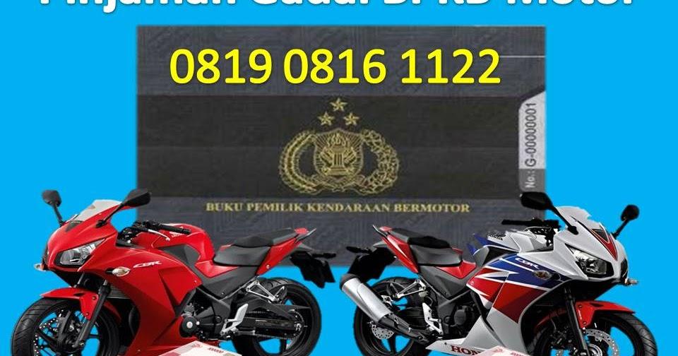 Syarat Pinjaman Dana Tunai Gadai Jaminan BPKB Motor Agar ...