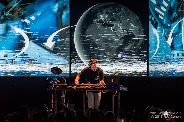 DJ Shadow at The Phoenix Concert Theatre October 8, 2016 Photo by Roy Cohen for One In Ten Words oneintenwords.com toronto indie alternative live music blog concert photography pictures