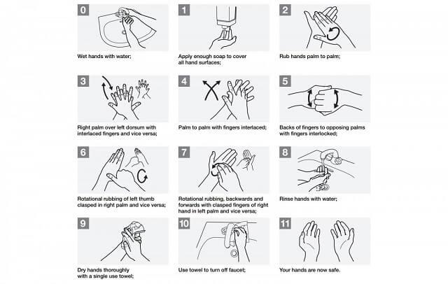 مساعد جوجل يساعدك في غسل يديك بالطريقة الصحيحة