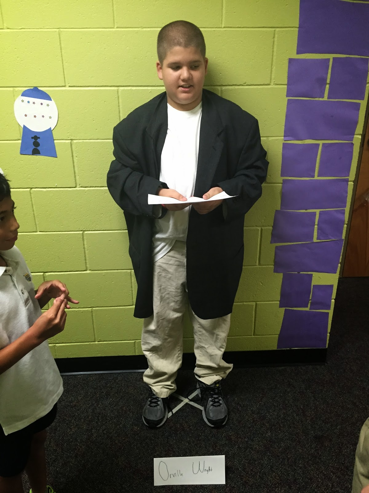 Mrssanders 4th Grade Class Wax Museum Biography Book Reports
