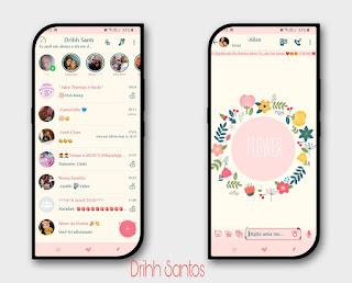 Blossom Theme For YOWhatsApp & Fouad WhatsApp By Driih Santos