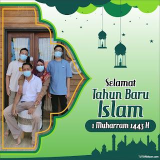 Twibbon 1 Muharram 1443 H PNG