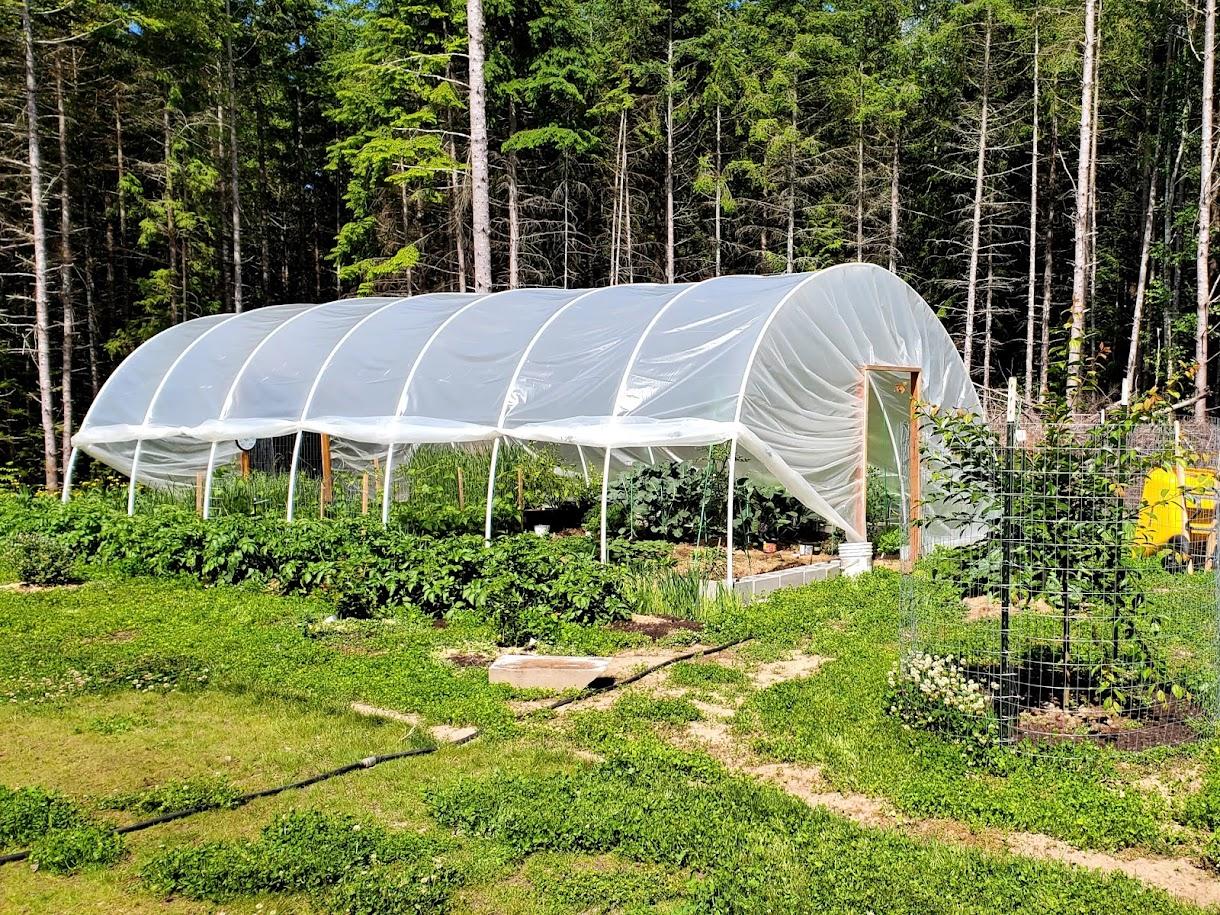 PVC Hoop house greenhouse design