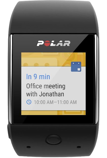 Polar M600 - Android Wear Features