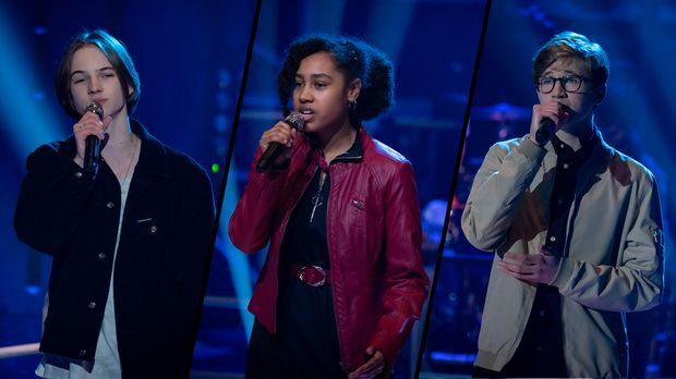 Egon Johanna & Arthur - You Broke Me First || The Voice Kids 2021