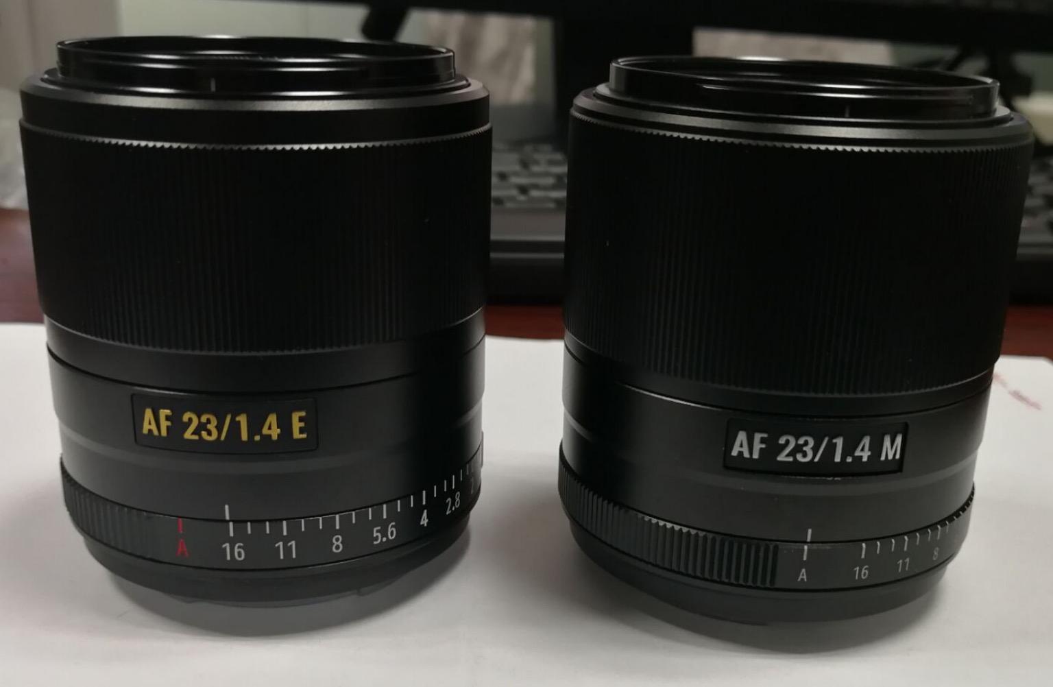 Объективы Viltrox 23mm f/1.4 E и Viltrox 23mm f/1.4 M