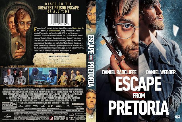 Escape from Pretoria DVD Cover