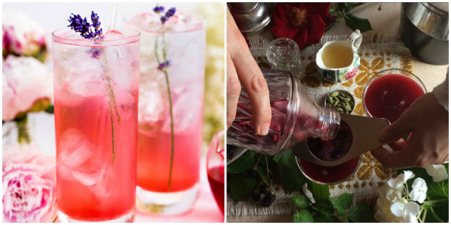 Blackberries in drink ideas
