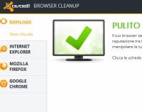 Ripulire il browser ada estesnioni e plugin