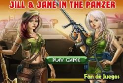 Jill & Jane In The Panzer