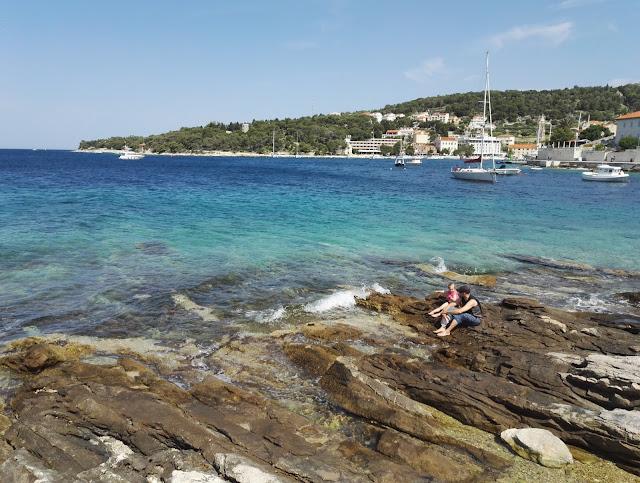 Kroatia Hvar on kaunis matkakohde